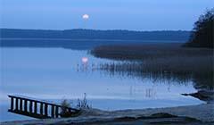 Idyllischer Rheinsberger See