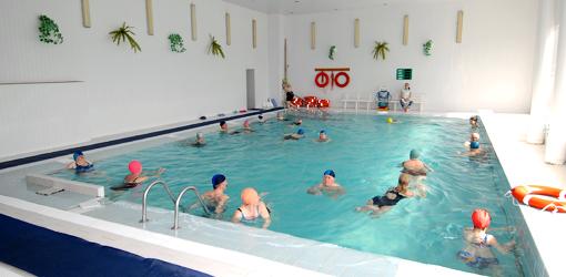 Soleschwimmbad im Sanatorium Kolberg