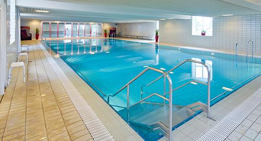 Schwimmhalle im Bad-Wildungener Gesundheitszentrum Helenenquelle