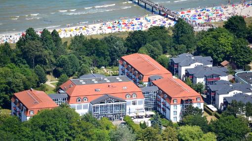 Das Boltenhagener Seehotel Großherzog von Mecklenburg befindet nahe der Ostsee