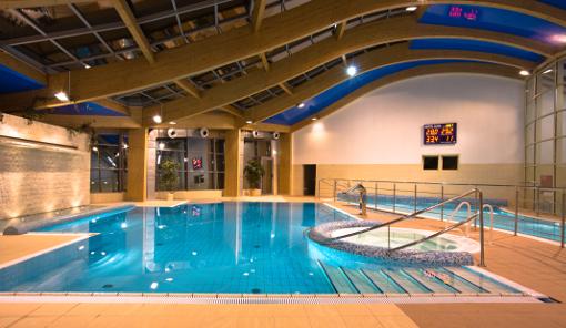 Schwimmbad im Kurhaus Alga