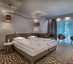 Doppelzimmer-Wohnbeispiel im West Baltic Resort