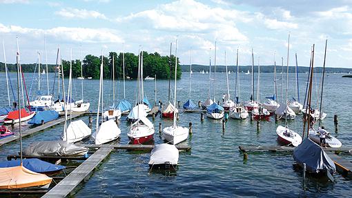 Scharmützelsee Segelboothafen