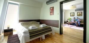 Große Zimmer im Aparthotel Baltic Spa