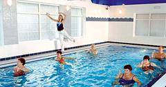Wassergymnastik im Park Hotel