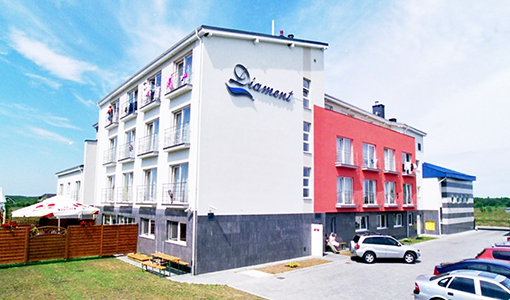 Hotel Diament Spa Grzybowo bei Kolberg