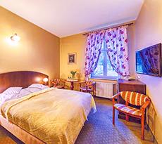 Wohnbeispiel Doppelzimmer im Kurhotel Berliner