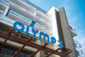 Teilansicht vom Kurhotel Olymp III in Kolberg