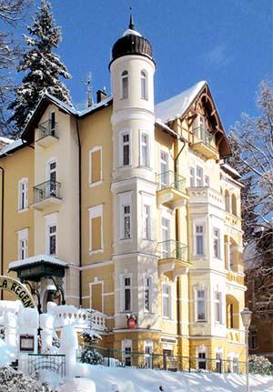 Winterliche Villa Regent Marienbad