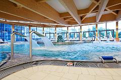 Schwimmbad im Hotel Aquarius Spa
