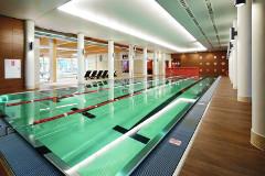 Sportschwimmbecken im Haus Aquarius Spa