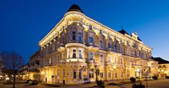 Abendansicht Franzensbad Hotel Savoy