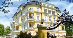 Hotel Imperial Franzenbad im Stile einer Villa erbaut