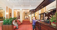 Neue Rezeption des Hotels Pawlik