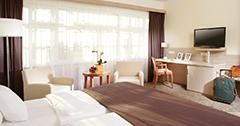 Wohnbeispiel im Franzensbader Hotel Harvey
