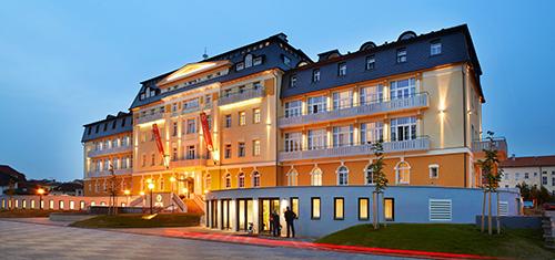 Gesamtansicht Hotel Harvey Franzensbad