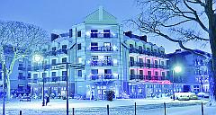 Winterbild des Hotels Villa Rezydent