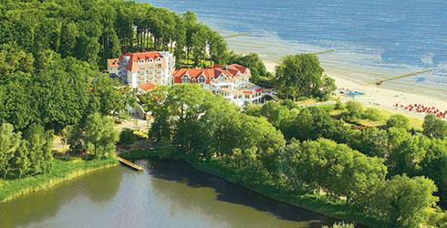 Hotel Seerose zwischen Ostsee und Kölpinsee