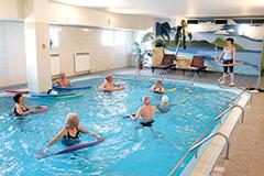 Franzensbad Kurhotel Pyramida Wassergymnastik