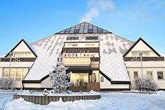 Kurhotel Pyramida 1 im Winter