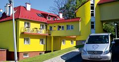 Teilansicht des Kurzentrums Bad Schwarzbach