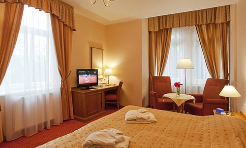 Wohnbeispiel im Health Spa Resort Vltava