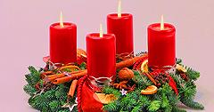 Adventskranz Weihnachts- und Silvesterreisen