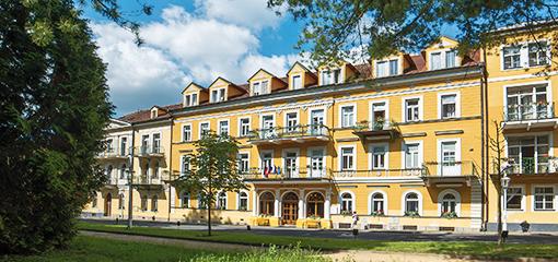 Hotel Doktor Adler Františkovy Lázně
