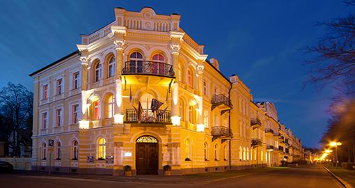 Hotel Metropol Františkovy Lázně