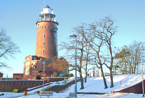 Kolberg im Winter zum Jahreswechsel