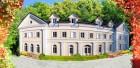 Frontalansicht des Alten Kurhauses in Bad Flinsberg