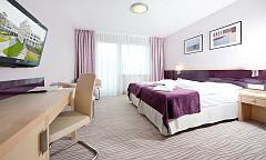 Doppelzimmer-Wohnbeispiel im Interferie-Hotel