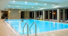 Schwimmbecken im Wellness-Hotel Krol Plaza Jaroslawiec