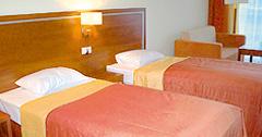 Doppelzimmer im Hotel Ikar Plaza