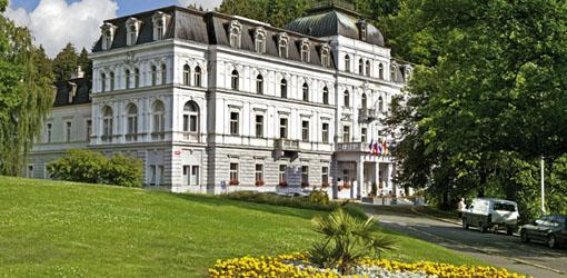 Sommerbild des Hotels Zentralbad