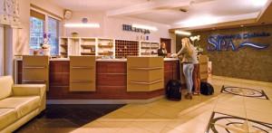 Rezeption und Lobby im Spa Baginsky & Chabinka Misdroy