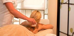 Wellness-Anwendung im Spa Baginsky & Chabinka Misdroy