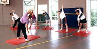 Gymnastik im Haus Helenenquelle