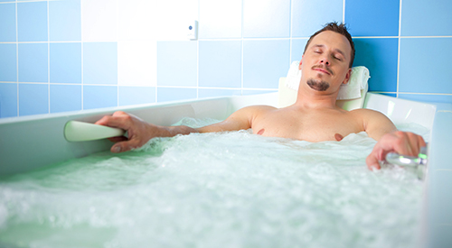 Hydromassage-Bild des Medical-Spa-Hotels in Mielno