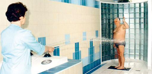 Schottische Dusche Bad Altheide