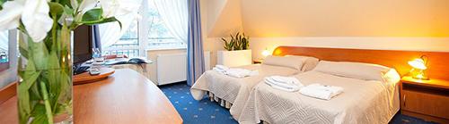 Wohnbeispiel Doppelzimmer im Hotel Baginscy Spa