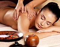 Wellness-Massage im Sauna im Strandhotel Baabe