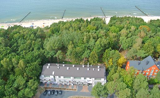 Haus Borgata an der polnischen Ostsee
