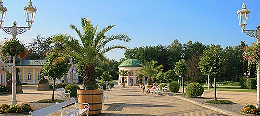 Kurpromenade Franzensbads