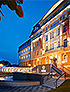 Abendansicht Spa-Kur-Hotel Harvey Franzensbad