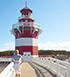 Leuchtturm am Maritim Hafenhotel Rheinsberg