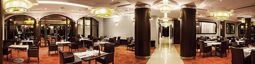 Panoramabild Speiseraum Hotel Era