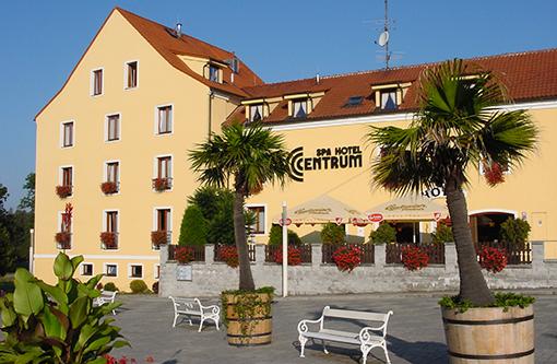 Spa-Hotel Centrum Franzensbad von außen