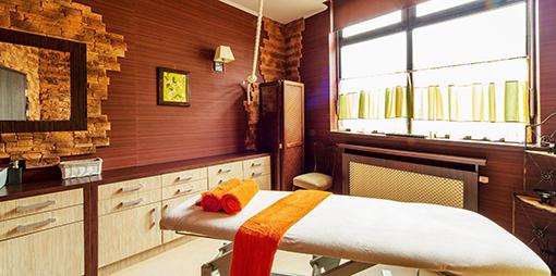 Wellnessraum im Hotel Lidia Spa in Rügenwaldermünde (Darlowko)