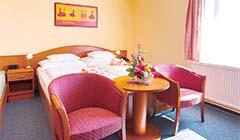 Doppelzimmer im Hotel Centrum Franzensbad
